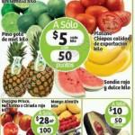 oferta frutas y verduras en Soriana