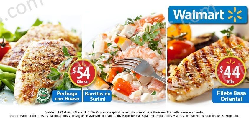 Walmart: Fin de Semana de Carnes del 22 al 26 de Marzo
