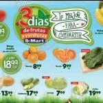 3 dias de frutas y verduras S-Mart OFFDE