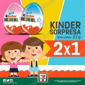 7-Eleven: Kinder Sorpresa, Paleta Payaso, Chocolate Dove al 2×1