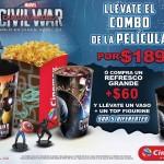 Combo Civil War Cinemex OFFDE