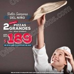 Dominos 2 pizzas por 189 al 30 de abril OFFDE