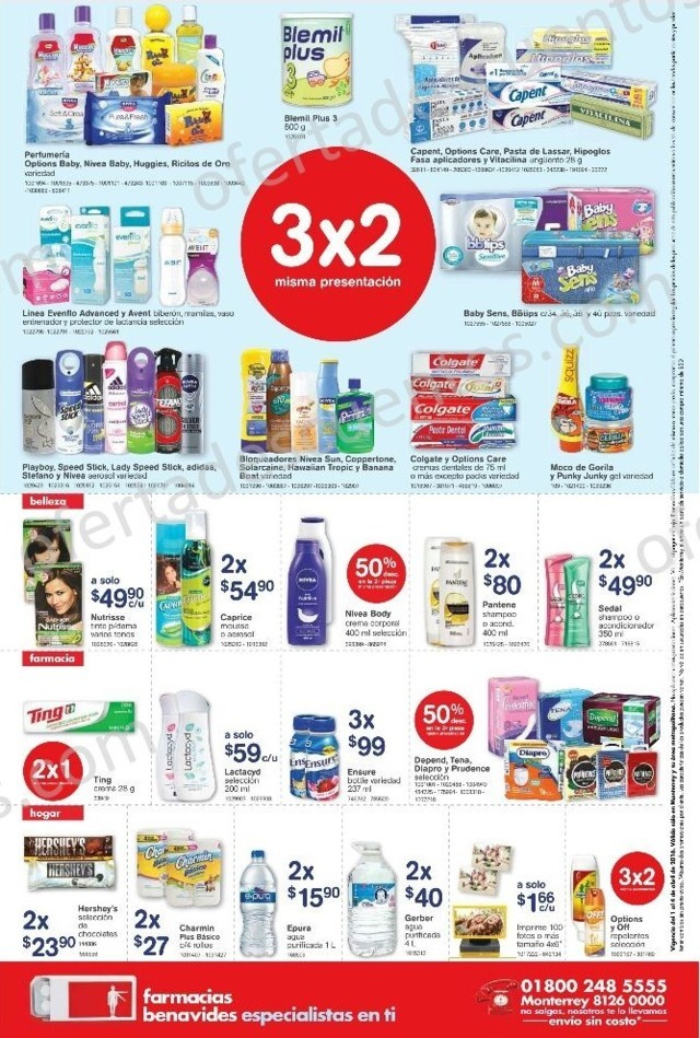 Farmacias Benavides: Promociones de Fin de Semana del 1 al 4 de Abril