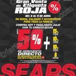 Gran venta de etiqueta roja en sears del 8 al 11 de abril OFFDE