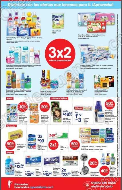 Farmacias Benavides: Promociones de Fin de Semana del 8 al 11 de Abril