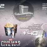 combo cinepolis Civil War OFFDE