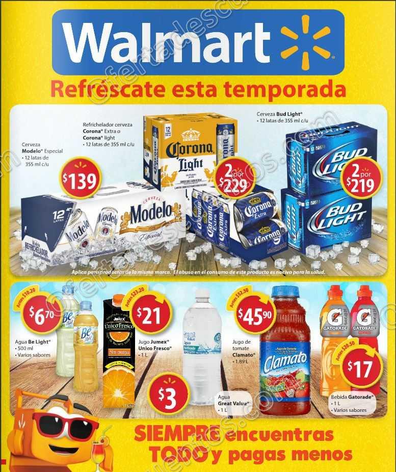Walmart: Folleto de Ofertas del 6 al 19 de Abril