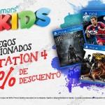 gamers 25 descuento juegos ps4 OFFDE