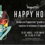 happy hour 2x1 frappuccinos OFFDE