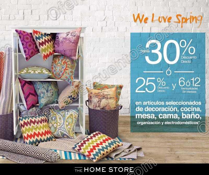 The Home Store: 30% de Descuento en Decoración, Cama, Baño, Mesa y Más