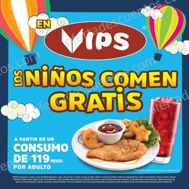 Vips: Los Niños Comen Gratis