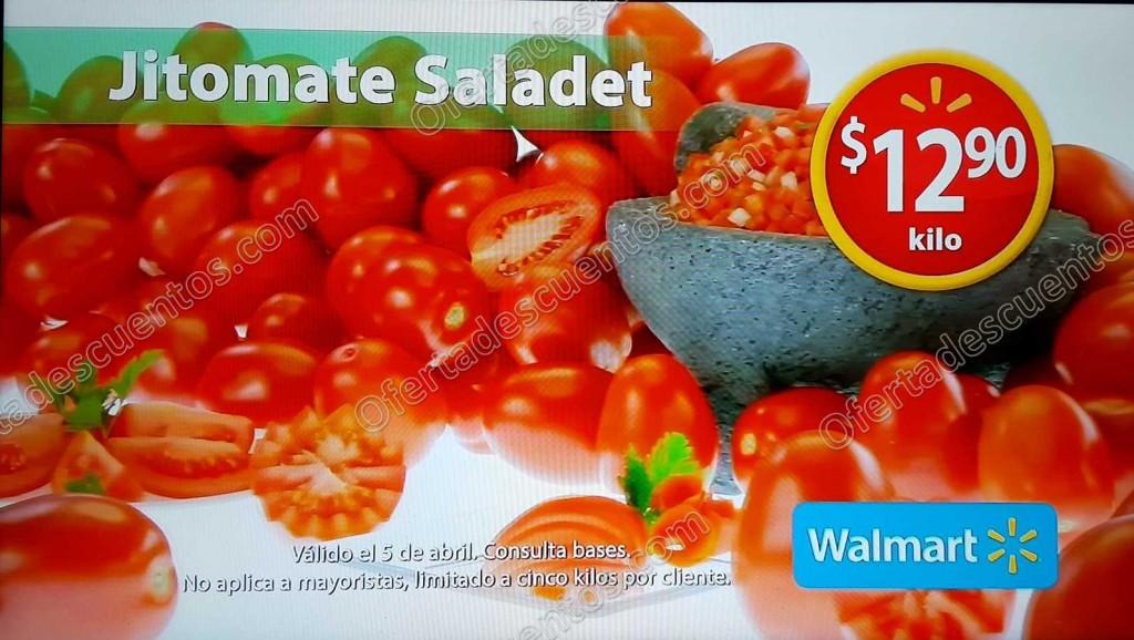 Walmart: Martes de Frescura Walmart 5 de Abril
