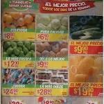 ofertas en frutas y verduras Bodega Aurrera del 15 al 21 de abril