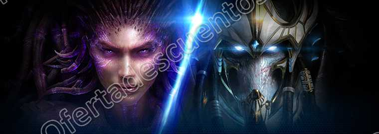 Battle.Net: StarCraft II: Heart of Swarm y Legacy of the Void por $499