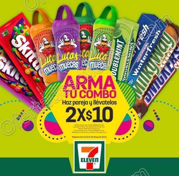 7Eleven: Milkyway, Snickers, Muecas y más a 2x$10 del 18 al 31 de Mayo