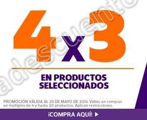 Netshoes: 4×3 en productos seleccionados