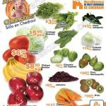 Ofertas en frutas y verduras en chedraui 10 y 11 de mayo 2016 OFFDE
