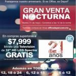 Venta Nocturna Office Depot 31 de mayo