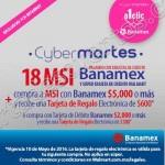 cybermartes banamex walmart 10 mayo OFFDE