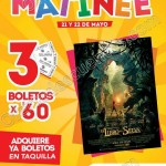 funcion matinee cinemex OFFDE