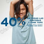 old navy 40% de descuento en playeras y tanks tops OFFDE