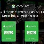 xbox live gold descuento OFFDE