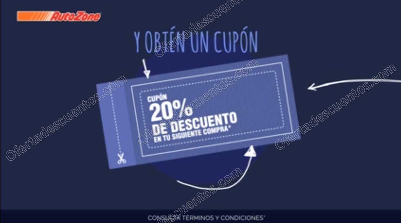 AutoZone: Gratis Cupón con 20% de descuento por llegar a 1 millón de Fans en Facebook