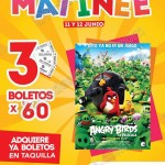 Cinemex Matinee angry birds OFFDE