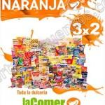 Folleto de promociones La comer temporadad naranja del 3 al 16 de junioOFFDE