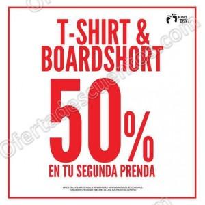 e22404f4248b7 Hang Ten  50% de Descuento en T-Shirt   Boardshort en Segunda Compra