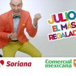 Julio Regalado 2016 en Comercial Mexicana y Soriana