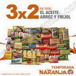 La Comer 3x2 en frijoles, arroz y aceite OFFDE