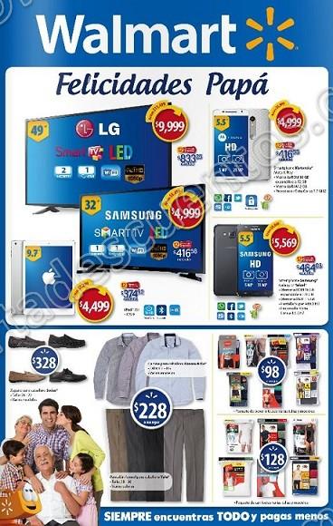 """Walmart: Ofertas especiales """"Felicidades Papá"""" del 13 al 19 de Junio"""