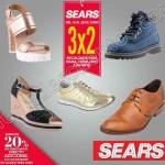 Sears 3x2 en calzado para toda la familia del 16 al 20 de junio OFFDE