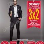 Sears 3x2 en trajes, pantalones para caballero del 9 al 30 de junioOFFDE
