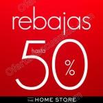 The Home Store rebajas de tenporada OFFDE