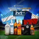 Vinoteca Mexico 2x1 y medio en vinos y licores al 26 de junio OFFDE  2016