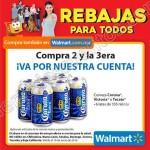 Walmart 3x2 en cervezas al 19 de junio OFFDE