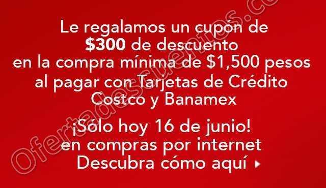 Costco: Cupón de $300 de Descuento en Compra Mínima de $1,500
