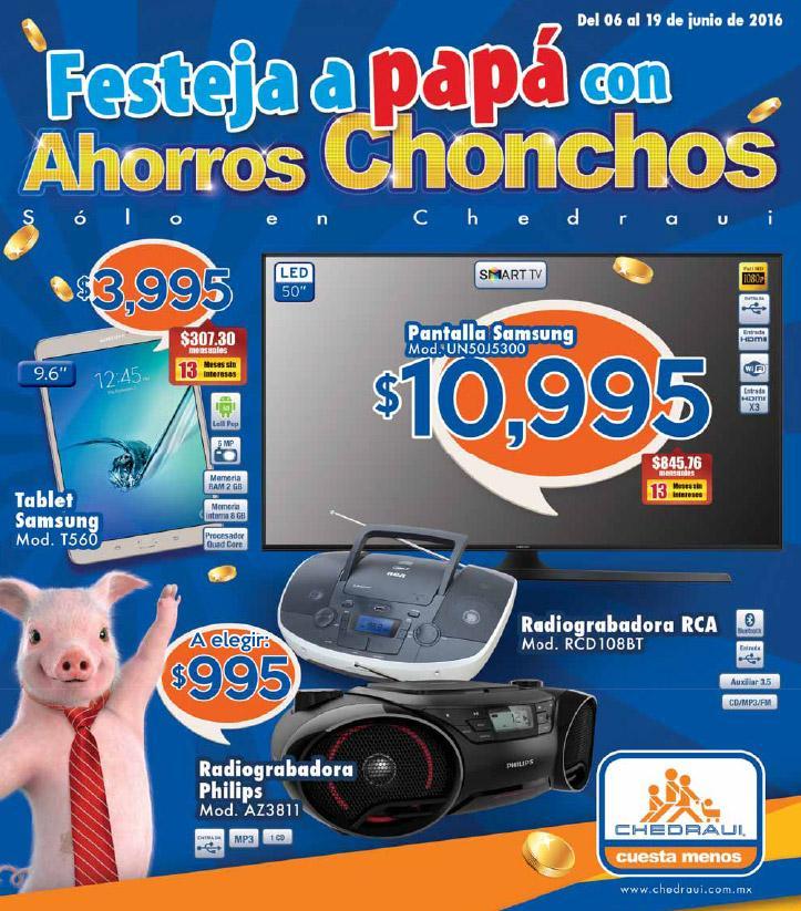 """Chedraui: Folleto de ofertas para el """"Día del Padre"""" del 6 al 19 de Junio"""