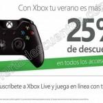 25 descuento en accesorios Xbox OFFDE