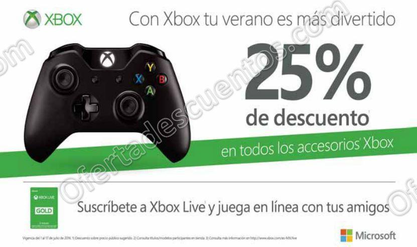 Xbox: 25% de Descuento en Accesorios Para Xbox