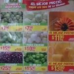 Frutas y Verduras Bodega aurrera  2016 OFFDE
