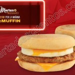 Mc Muffin martes 12 de julio OFFDE