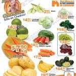 Ofertas frutas y verduras en Chedraui 19 y 20 de julio OFFDE