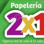 Papeleria al 2x1 en julio Regalado OFFDE  2016