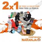 Temporada naranja 2x1 en calcetines del 11 al 17 de julio OFFDE