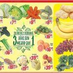 Frutas y verduras HEB 9 al 11 de agosto OFFDE 1