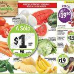 Ofertas frutas y verduras en Soriana 30 y 31 de agosto OFFDE  2016