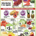 Ofertas frutas y verduras en soriana 9 y 10 de agosto OFFDE